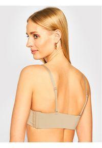 Beżowy biustonosz bardotka Calvin Klein Underwear