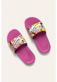 Różowe klapki Nike Kids