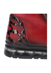 Artiker - Botki ARTIKER 49C0782 Czerwony 4-42. Kolor: czerwony