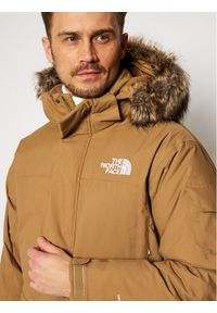Brązowa parka The North Face
