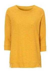 Żółty sweter Cellbes z okrągłym kołnierzem