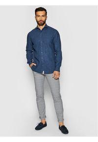 Baldessarini Koszula Henry B3 10000/000/3030 Granatowy Tailored Fit. Kolor: niebieski #5