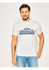 Lee T-Shirt Heritage Tee L63QFQ03 Szary Regular Fit. Kolor: szary