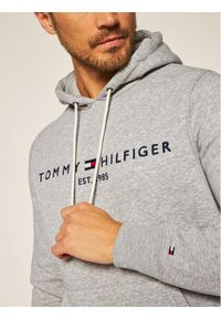 TOMMY HILFIGER - Tommy Hilfiger Bluza Core Logo MW0MW10752 Szary Regular Fit. Kolor: szary