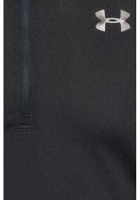 Czarna bluza nierozpinana Under Armour melanż, bez kaptura