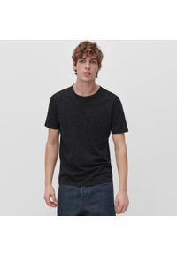 Czarny t-shirt Reserved