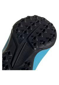 Adidas - Buty dla dzieci do piłki nożnej adidas X 19.3 TF F35357. Materiał: guma, syntetyk, materiał. Szerokość cholewki: normalna. Sport: piłka nożna