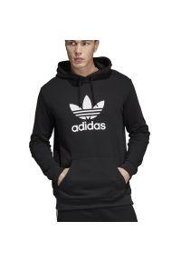 Adidas - ADIDAS ORIGINALS TREFOIL > DT7964. Typ kołnierza: kaptur. Materiał: materiał, bawełna. Długość rękawa: długi rękaw. Długość: długie