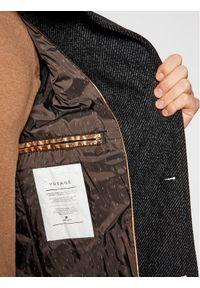 Czarny płaszcz zimowy Pierre Cardin #6