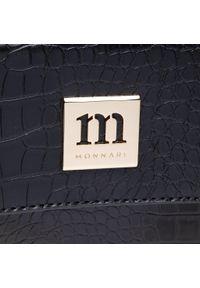 Monnari - Torebka MONNARI - BAG1200-020 Black. Kolor: czarny. Materiał: skórzane. Styl: klasyczny. Rodzaj torebki: na ramię