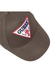 Zielona czapka z daszkiem Guess