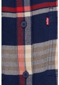 Levi's® - Levi's - Koszula. Okazja: na spotkanie biznesowe. Materiał: włókno, lyocell, tkanina. Długość rękawa: długi rękaw. Długość: długie. Styl: biznesowy