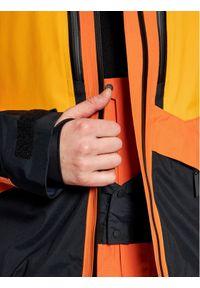 Pomarańczowa kurtka sportowa Peak Performance narciarska