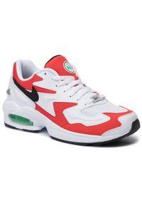 Białe sneakersy Nike z cholewką, Nike Air Max, na co dzień