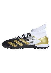 Adidas - Buty piłkarskie turfy adidas Predator 20.3 TF FW9191. Okazja: na imprezę. Materiał: materiał, syntetyk. Szerokość cholewki: normalna. Wzór: nadruk. Sezon: lato. Sport: piłka nożna