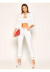 Białe jeansy Liu Jo