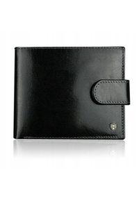 Czarny portfel ROVICKY