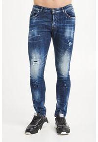 John Richmond - JEANSY SABALAN SKINNY FIT JOHN RICHMOND. Materiał: jeans