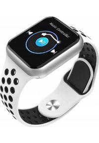 Biały zegarek Microwear smartwatch