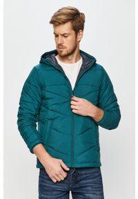 Zielona kurtka PRODUKT by Jack & Jones casualowa, z kapturem, na co dzień