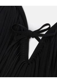 Wolford - WOLFORD - Jednoczęściowy strój kąpielowy Libertas. Kolor: czarny. Materiał: tkanina. Wzór: aplikacja