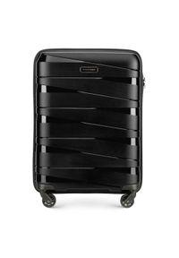 Czarna walizka Wittchen elegancka