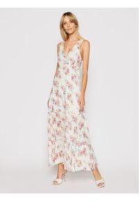 Pepe Jeans Sukienka letnia Fionas PL952831 Biały Regular Fit. Kolor: biały. Sezon: lato