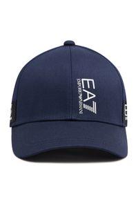 EA7 Emporio Armani - Czapka z daszkiem EA7 EMPORIO ARMANI - 274803 1P107 00035 Blue. Kolor: niebieski. Materiał: materiał, bawełna