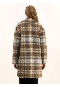 Brązowy płaszcz przejściowy Pennyblack