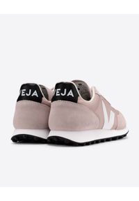 Veja - VEJA - Różowe sneakersy Rio Branco. Kolor: różowy, wielokolorowy, fioletowy. Materiał: bawełna, zamsz, materiał, guma. Szerokość cholewki: normalna