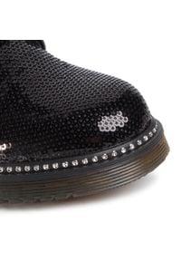 Nelli Blu - Trapery NELLI BLU - CS102607-08 Black 1. Okazja: na spacer. Kolor: czarny. Materiał: skóra. Szerokość cholewki: normalna. Wzór: aplikacja. Sezon: zima. Styl: młodzieżowy