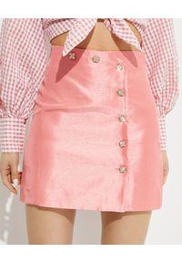 ALICE MCCALL - Różowa spódnica Dance Dance. Kolor: wielokolorowy, różowy, fioletowy. Materiał: materiał. Styl: klasyczny