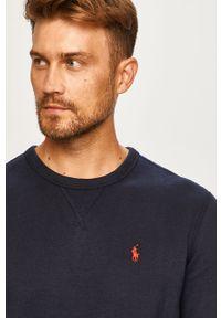 Niebieska bluza nierozpinana Polo Ralph Lauren casualowa, gładkie, na co dzień, polo