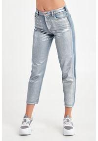Emporio Armani - JEANSY EMPORIO ARMANI. Stan: podwyższony. Materiał: jeans. Styl: klasyczny