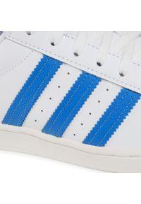 Białe sneakersy Adidas Adidas Superstar, z cholewką, na co dzień