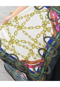 EMMA & GAIA - Sukienka na ramiączkach z printem. Okazja: na imprezę. Kolor: czarny. Materiał: tkanina. Długość rękawa: na ramiączkach. Wzór: nadruk