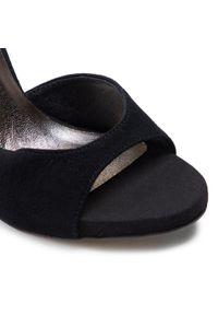 Czarne sandały Karino