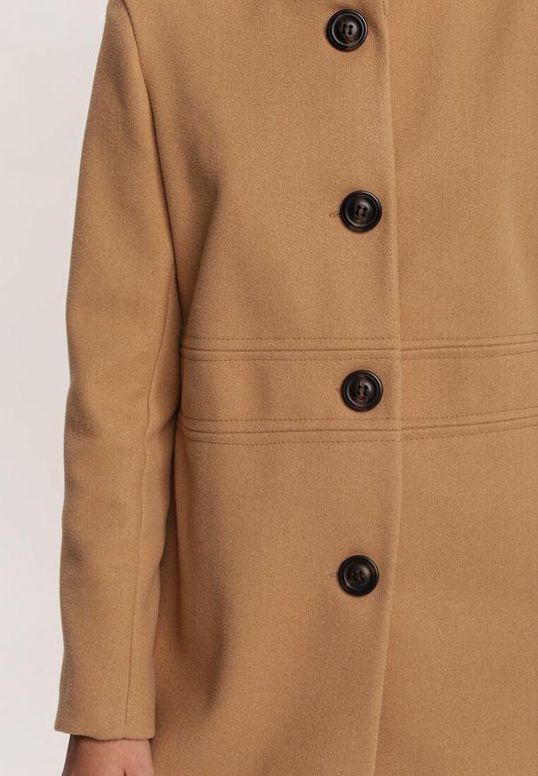 Beżowe krótki płaszcz Renee