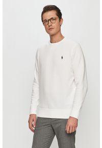 Biała bluza nierozpinana Polo Ralph Lauren polo, casualowa