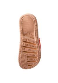 Pomarańczowe klapki Nike