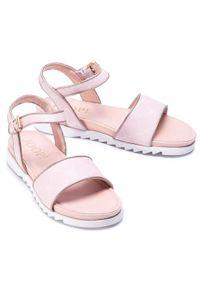 Różowe sandały JOOP!