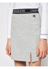 Szara spódniczka Calvin Klein Jeans