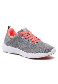 Bagheera - Sneakersy BAGHEERA - Flow 86447-81 C0360 Grey/Peach. Kolor: szary. Materiał: materiał. Szerokość cholewki: normalna. Obcas: na płaskiej podeszwie