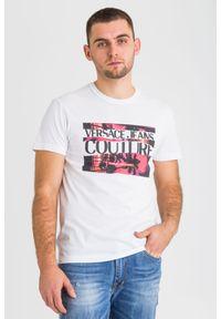 Versace Jeans Couture - T-SHIRT versace jeans couture. Materiał: bawełna. Wzór: aplikacja