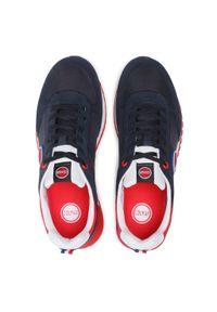 Colmar - Sneakersy COLMAR - Travis Boost 134 Navy/Red. Okazja: na co dzień. Kolor: niebieski. Materiał: zamsz, materiał, skóra. Szerokość cholewki: normalna. Styl: casual, sportowy #7