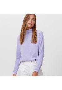 Fioletowy sweter Cropp