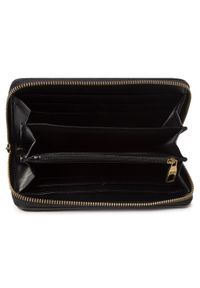 Czarny portfel Versace Jeans Couture