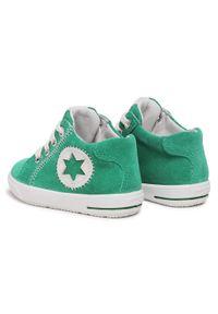 Superfit - Sneakersy SUPERFIT - 1-000348-7000 M Grün/Weiss. Kolor: zielony. Materiał: skóra, zamsz. Szerokość cholewki: normalna. Sezon: zima