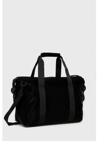 Rains - Torba 1319 Weekend Bag Small. Kolor: czarny