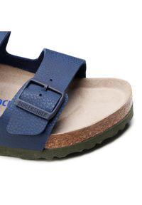 Niebieskie klapki Birkenstock